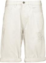 MiH Jeans Caro distressed denim shorts