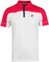 Fila Corsair Red & Navy Short Sleeve Polo Shirt