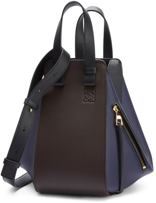 Loewe Small Leather Hammock Bag