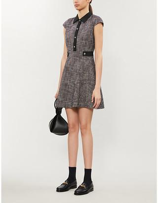 Claudie Pierlot Ready crepe mini dress