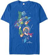 Fifth Sun Men's Tee Shirts ROYAL - Thor Ragnarok Royal Thor Hulk Burst Tee - Men