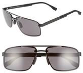 BOSS Men's '0773/s' 60Mm Sunglasses - Black Crystal Brown