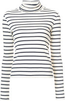 Veronica Beard striped roll neck jumper