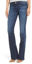 KUT from the Kloth Petite Women's 'Natalie' Stretch Bootcut Jeans