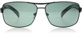 Dirty Dog Bullet Sunglasses Satin Black 53307 Polariserade