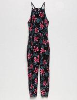 URBAN GIRL Floral Girls Jumpsuit