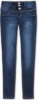 Vanilla Star Snap-Front Skinny Jeans, Big Girls (7-16)