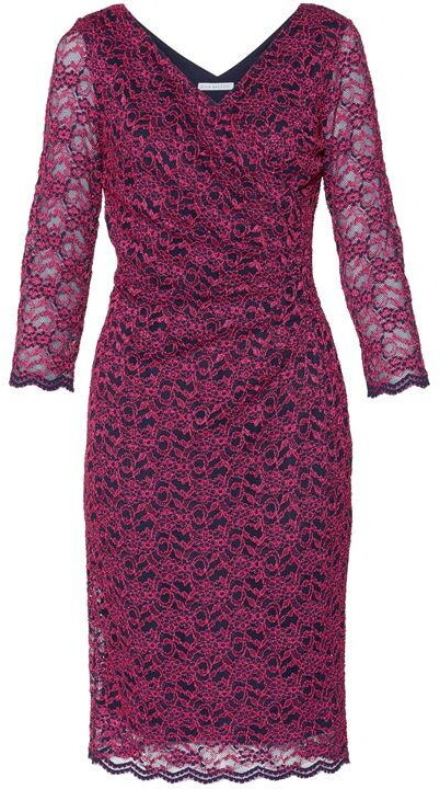 Thumbnail for your product : Gina Bacconi Emery Lace Wrap Dress