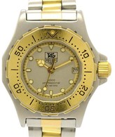 Tag Heuer 3000 934.208 Professional 200M Quartz Stainless Steel & Gold Plated 28mm Women