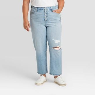 Universal Thread Women's Plus Size High-Rise Skinny Jeans - Universal ThreadTM