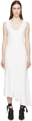 Haider Ackermann White Sleeveless Dress
