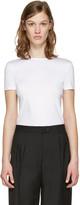 Jil Sander White Cotton T-shirt