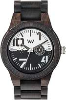 WeWood [Wiuddo watch Wood / wooden OBLIVIO BLACK-WHITE Multifunction 9818123 Men's [regular imported goods]