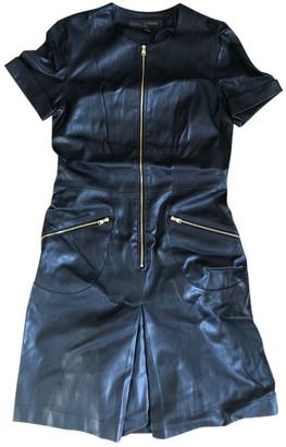 Louis Vuitton Black Leather Dresses