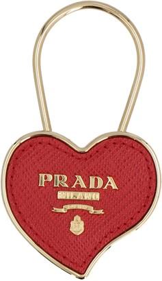 Prada Heart Keyring