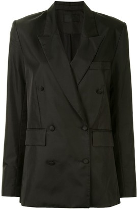RtA Fitted Double-Breasted Blazer