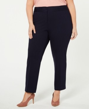 Vince Camuto Plus Size High-Rise Ankle Pants
