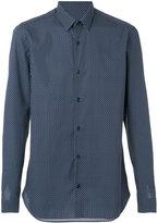 Z Zegna polka-dot shirt