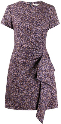 Jonathan Simkhai Floral Print Knee-Length Dress
