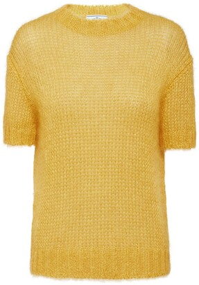 Prada Sheer Knitted Top
