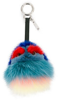 Fendi Kid Bugs charm - women - Leather/Mink Fur - One Size