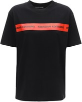 Kwaidan Editions Logo Tape Cotton Jersey T-shirt