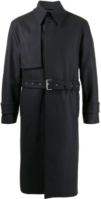 SONGZIO signature Melton trench coat