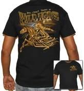 Biker Life Clothing Biker Life USA Cant Tame a Wild Horse T-Shirt