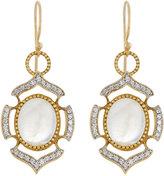 Jude Frances 18K Moonstone & Diamond Dangle & Drop Earrings