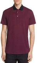 Theory Lukis Contrast Collar Slim Fit Polo Shirt - 100% Exclusive