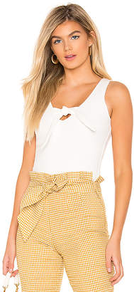 superdown Tricia Front Knot Tank