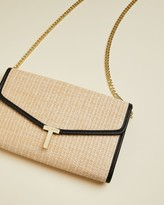 Ted Baker Straw Clutch Bag