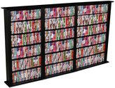 Christian Dior Venture Horizon Triple 50-Inch DVD Wall Rack Media Storage