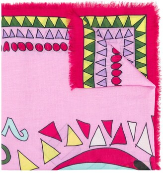 La DoubleJ Persephone squared scarf
