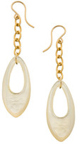 Heather Hawkins Mother Of Pearl Shell Earrings