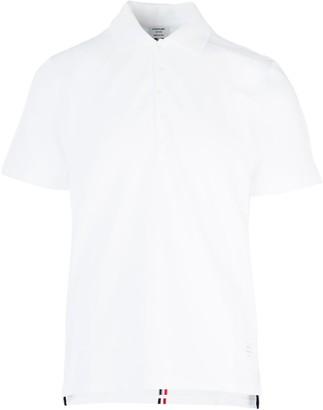 Thom Browne Stripe Detailed Polo Shirt
