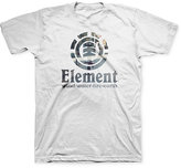 Element Men's Vertical Fragment Graphic-Print Logo T-Shirt