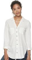 Sonoma Goods For Life Women's SONOMA Goods for Life Utility Tunic Shirt