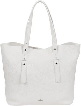 Hogan White Leather Bag