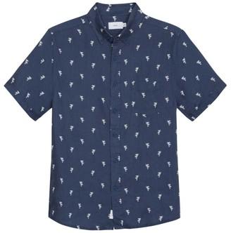 Onia Jack Short-Sleeve Palm Tree Sport Shirt