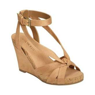 Aerosoles Women's Fashion Plush Wedge Sandal - Open Toe Strap Platform Heel Shoe with Memory Foam Footbed (10M - )