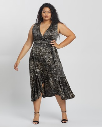 Atmos & Here Lena Midi Dress