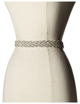 Nina Kennedy Organza Crystal Braid Sash Women's Belts