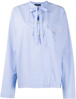 Jejia Nak Polo striped shirt