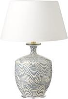 OKA Kutcharo Table Lamp - White/Blue