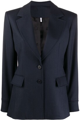 Chloé Notched Lapels Single-Breasted Blazer