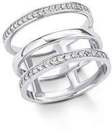 S'Oliver Women 925 Silver White Zircon