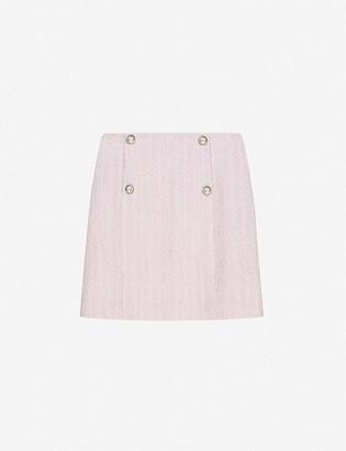 Claudie Pierlot Sarafina tweed mini skirt