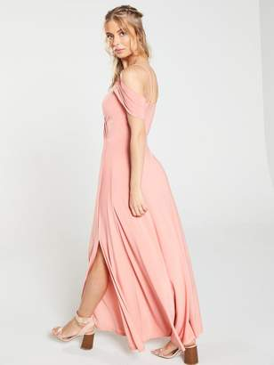 Very OCCASION COLD SHOULDER JERSEY MAXI DRESS