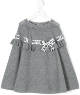 Fendi bow knitted sweater